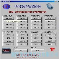 DDM系列產品參數組態、調試軟件