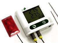 双温度声光报警记录仪 WS-T21AC2