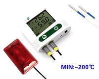 声光报警双超低温记录仪 WS-T21SLAC2