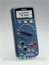 日本日置真有效值数字万用表HIOKI3257-50  日本日置真有效值数字万用表HIOKI3257-50