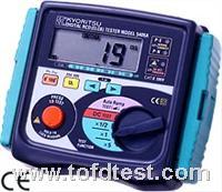 日本共立数字漏电开关测试仪5408  日本共立数字漏电开关测试仪5408
