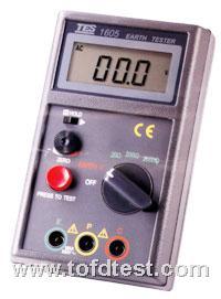 台湾泰仕数字接地电阻计TES1605  台湾泰仕数字接地电阻计TES1605