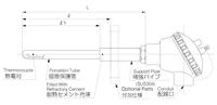 日本OKAZAKI TCP防水防塵高溫熱電偶 防塵TC
