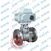 不锈钢电动球阀  DTR-10