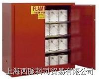 SECURALL油漆油墨安全柜/安全储存柜/防火柜/防爆柜(红色) securall/FM认证
