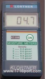 KT-50B感应式水分测试仪 KT-50B感应式水分测试仪