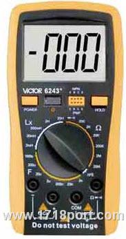 VC 6243+ 电感电容表 VC6243+ 胜利6243+