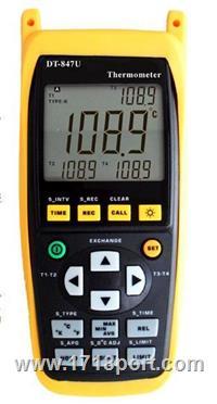 手持式熱電偶溫度錶 DT-8U  说明书、参数