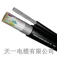 HYAC-自承式(8字形)通信电缆电缆重量 HYAC