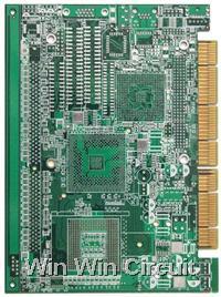 Ten layer PCB