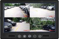 Quad Video Display for CAR