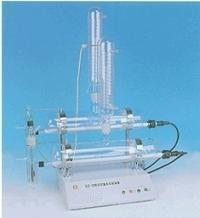 SZ-2自动双重纯水蒸馏器 自动纯水蒸馏器 纯水蒸馏水器价格