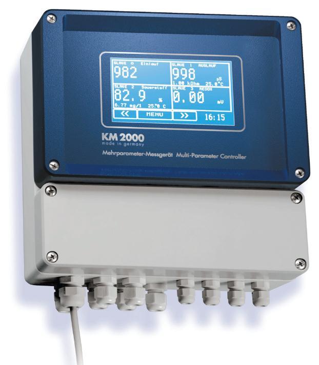 德國多參數水質分析儀(電極法)-在線用