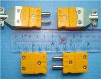 台湾产K型热电偶大插头|大插座,圆柱体插头 K