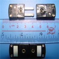 SMPW-J-MF热电偶插头插座|美国omega黑色热电偶连接器  SMPW-J-MF