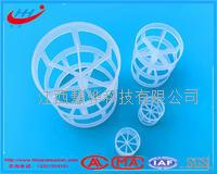 聚丙烯鲍尔环 塑料鲍尔环填料