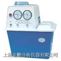 SHB-3型循环水式多用真空泵(不锈钢泵2表2抽头) SHB-Ⅲ型循环水式真空泵
