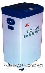 SHZ-CA型循环水式多用真空泵(防腐一次成型外壳三抽头) SHZ-CA型防腐一次成型外壳三抽头循环水多用真空泵