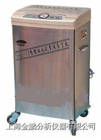 SHZ-CD型循环水式多用真空泵(不锈钢外壳五抽头) SHZ-CD型不锈钢五抽头循环水式真空泵