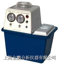 SHZ-D(A)型台式防腐循环水真空泵(双表双抽头) SHZ-DA型防腐台式双表双抽头循环水真空泵
