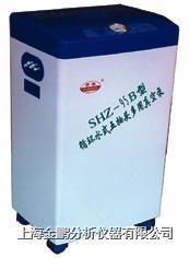 SHZ-95A型循环水式多用真空泵(不锈钢外壳五抽头)  SHZ-95A型不锈钢外壳五抽头循环水式多用真空泵