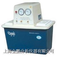 SHB-IV双A循环水式多用真空泵(不锈钢双面4表4抽头) SHB-IV循环水式多用真空泵