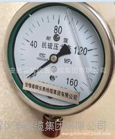 抗硫耐震壓力表 YTSN-100  YTSN-150