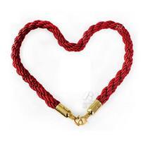 礼牢栏杆红色挂绳麻绳