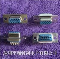 滤波连接器 DB15 VGA 母 焊杯 点击进入规格书