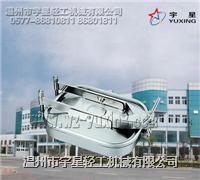 不锈钢方型人孔YAE型L-卫生级 YX-YAEL