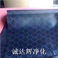 黑色防静电网格帘,0.5黑色防静电网格帘 0.5mm*1.37m*30m