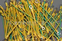 天津电缆500毫米6平方O型端子接地线 500毫米