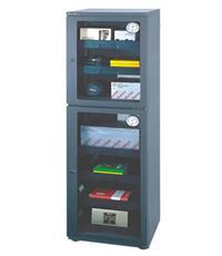 金属镶钢化玻璃门电子防潮柜AD-310D AD-310D