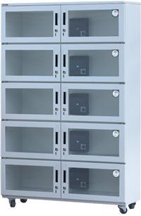 金属镶钢化玻璃门电子防潮柜AFL-10D AFL-10D