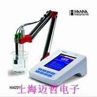HI4221彩屏實驗室臺式pH/ ORP /°C測定儀HI4221  HI4221   pH/ ORP /°C