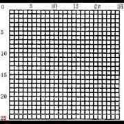 C6 型0.2网形目镜测微尺5/25 C6 型