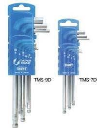 TMS-9D球型六角扳手 日本EIGHT八牌超硬六角匙 TMS-7D TLS-9ZD