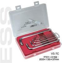 VS-7C六角扳手|日本EIGHT八牌超硬六角匙|VS-S6 VS7C