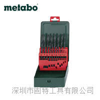 麦太保 25支钻头套装 HSS-R高速钢麻花钻头轧制 1-13mm 1-13mm