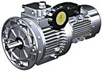 MB系列无级变速机(功率:0.18KW~7.5KW) 基本型配蜗轮蜗杆减速机MB-RV