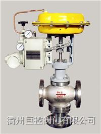 气动薄膜三通调节阀