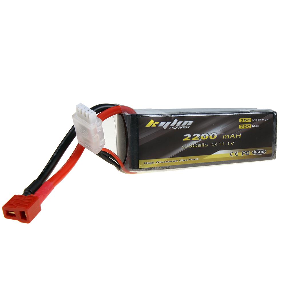 Kylin Power 2200mah 111v 35c Lipo Battery With T Plug For Rc Lippo 3s Tplug Airplane Trex 450