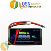 7.4V 500MAH 10C Li-Poly Battery Packs