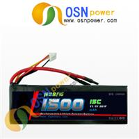 11.1V 1500MAH Rechargable Li-poly Battery Packs