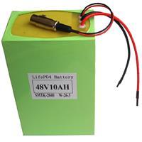 48v(51.2v) 10Ah lifepo4 battery pack