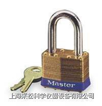 黃銅千層鎖(29mm寬鎖體) Master lock,8LF,8KALF,5mm粗鎖鉤,中鉤38mm