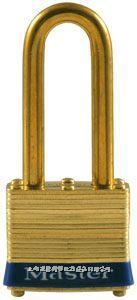 黃銅千層鎖(44mm寬鎖體) Master lock,2LJ,2KALJ,8mm粗鎖鉤,長鉤64mm