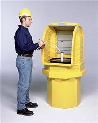户外重型单桶卷帘式硬顶盛漏隔间 CN9640 CN9641 CN0417