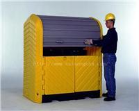 户外重型两桶卷帘式硬顶盛漏隔间 CN9612 CN9613 CN0676