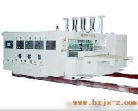 电脑控制型高速自动印刷开槽模切机(前照)